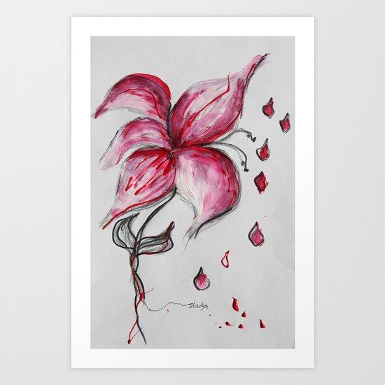 Tears of Joy Art Print