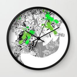 CutOuts - 8 Wall Clock