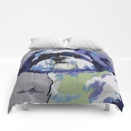 Shih Tzu Pop Art Pet Portrait Comforters