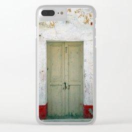 Door #0250 Clear iPhone Case