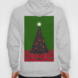 Christmas Tree with Glowing Star Hoody