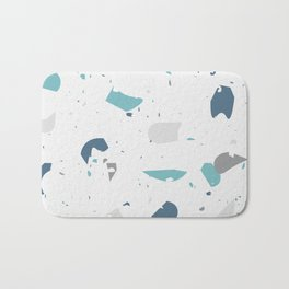 Terrazzo Abstracts Collection, Pattern 4 Bath Mat