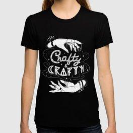 Crafty & Crafty - B&W T-shirt