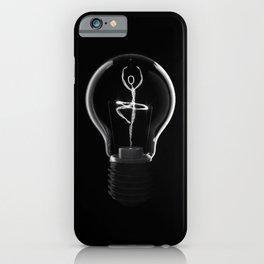 Dancing light iPhone Case