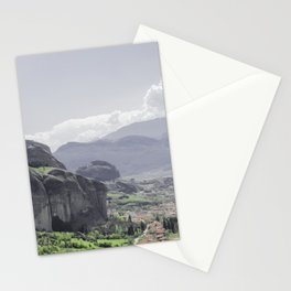 Greece Landscape Panorama Stationery Cards