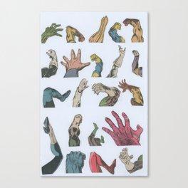Reaching Canvas Print