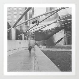 #chicago Art Print