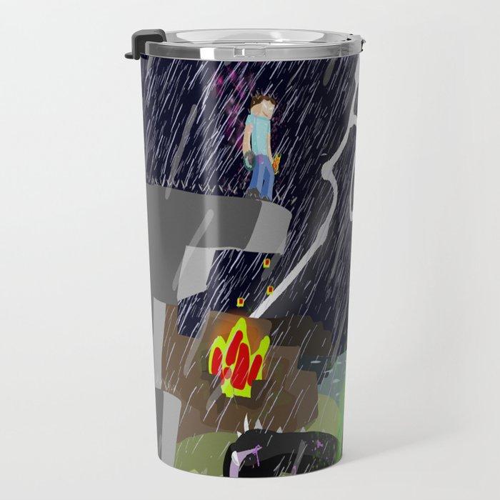 The Final Confrontation Travel Mug