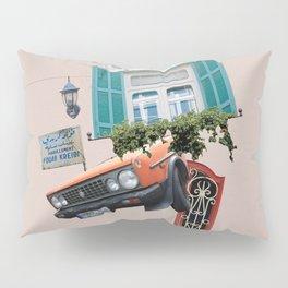 Psychedelic Gemmayzeh - Beirut  Pillow Sham