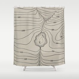 Lake Valley Mountain Shower Curtain