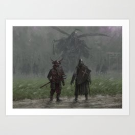 Brothers in arms - Invasion Art Print