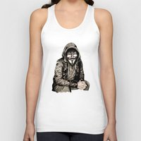 gangster Tank Tops featuring Anonymous Gangster by 13 Styx