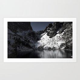 Rocky Mountains 3 Art Print