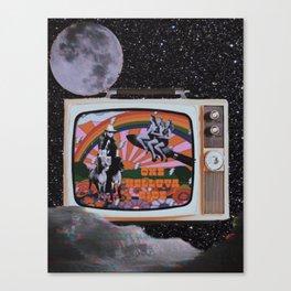 One Helluva Ride Canvas Print