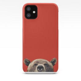Bear - Red iPhone Case