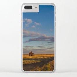 Grain Elevator 17 Clear iPhone Case