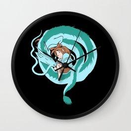 My Dragon Form Wall Clock
