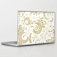 nouveau Laptop & iPad Skins featuring Nouveau by CyberneticGhost