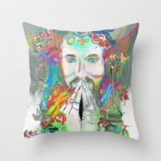 Dissolve into Light Throw Pillow