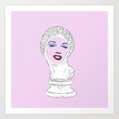 Marilyn Aphrodite Art Print