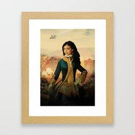 Inara - Vintage Crew - Firefly Framed Art Print