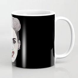 Miley with Red Lips Coffee Mug