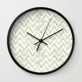 Mint & Gold - set Wall Clock