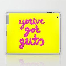 you've got guts Laptop & iPad Skin