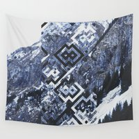 geo Wall Tapestries featuring GEO by MIRA design