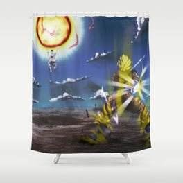 dragon ball Shower Curtain