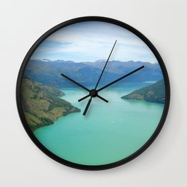 Blue River Wall Clock