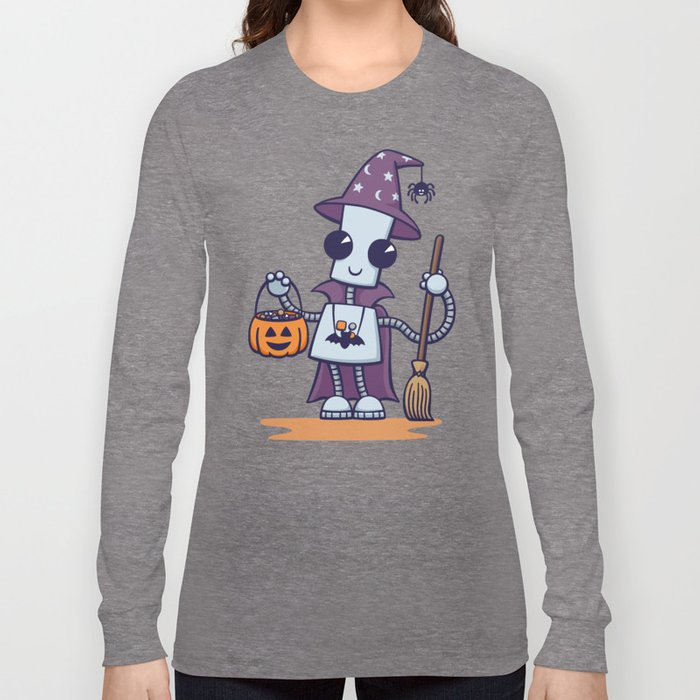 Ned's Halloween Witch Long Sleeve T-shirt