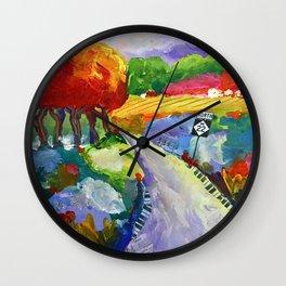 Twist and Turn Wall Clock