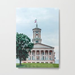 Tennessee State Capitol Metal Print