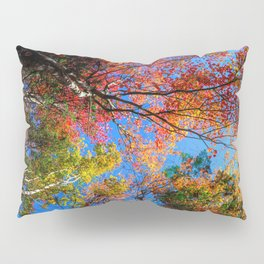 Colorful, Autumn In New Hampshire by OLena Art Pillow Sham