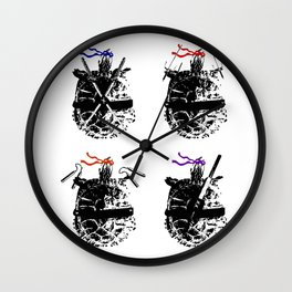 Heroes in a Half Shell Wall Clock