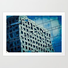 Building Reflections Art Print