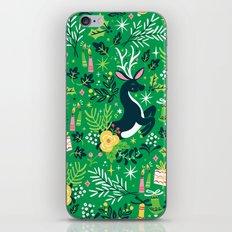 Festive Deer iPhone & iPod Skin