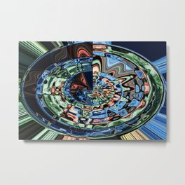 The Full Circle Metal Print
