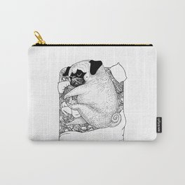 I'm Tired, You're a Lonely Pug Carry-All Pouch