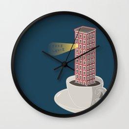 Freelance's Nights Wall Clock