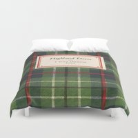 dress Duvet Covers featuring Highland Dress by MW. [by Mathius Wilder]