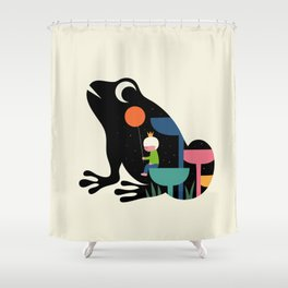 Who Am I Shower Curtain