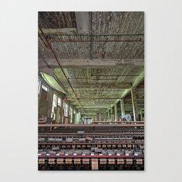Abandoned Lonaconing Silk Mill Canvas Print