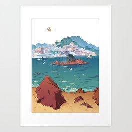 Cangas Art Print