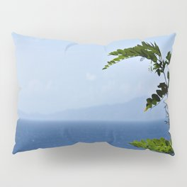 Leaves and Mountains Pillow Sham