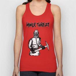 Miner Threat Unisex Tank Top