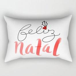 feliz Natal Rectangular Pillow