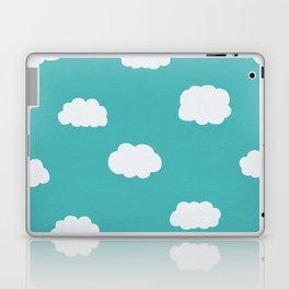 Cartoon Clouds Pattern Laptop & iPad Skin