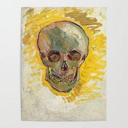 Skull by Vincent van Gogh, 1887 Poster